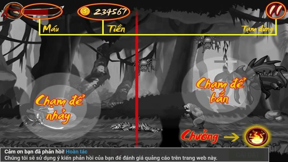 Hình ảnh trong game Ninja Hero The Super Battle - Ninja Cứu Mẹ ở HieuMobile