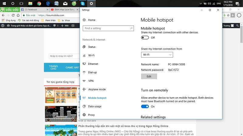 Hình ảnh 0RW1PYS của Cách đơn giản để phát Wifi trên máy tính Windows 10 nhanh chóng tại HieuMobile
