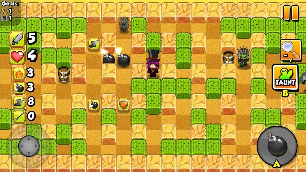 Hệ thống màn chơi đa dạng và độc đáo của Bomber Friends