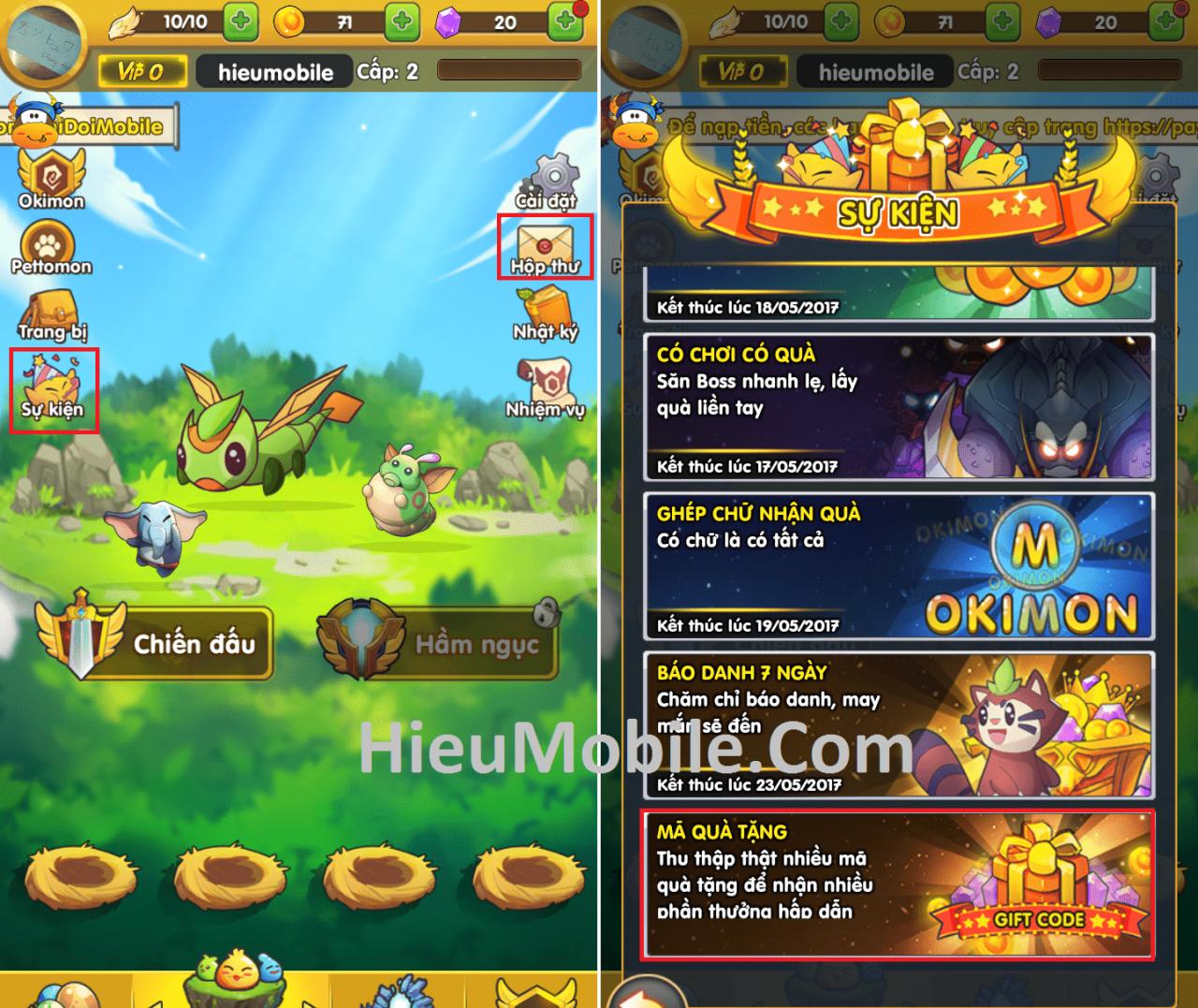 Hình ảnh 0oDQuyl của Hướng dẫn nhận và sử dụng giftcode Phi Đội Mobile tại HieuMobile