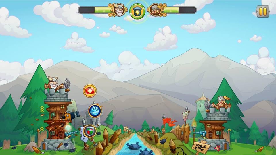 Hình ảnh trong game Tower Crush - 2 tháp bắn nhau tại HieuMobile
