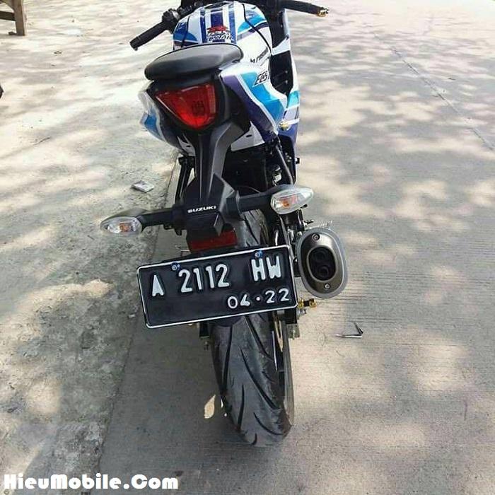 Chủ sở hữu chiếc xe này đang sống tại Indonesia, ở Việt Nam hiện tại thì chúng tôi chưa ghi nhận một chiếc xe nào độ tem Ecstar cả.