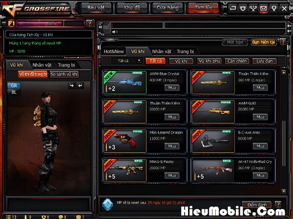 Hình ảnh 23jur47 của Tìm hiểu về điểm MP và cách kiếm được trong game Đột Kích tại HieuMobile