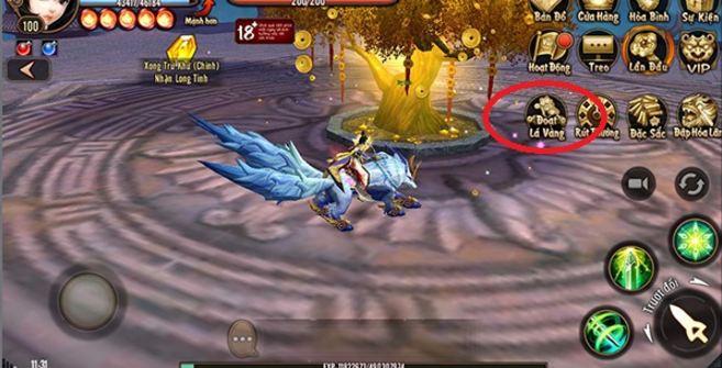 Kiem tien vang trong game Phong Van 3D