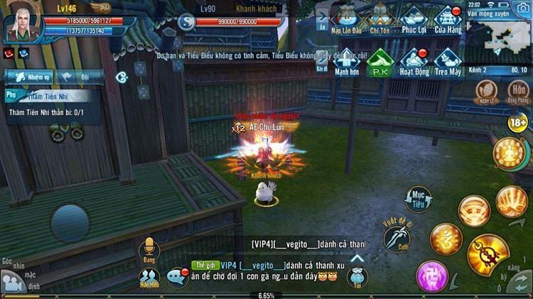 Hình ảnh 2NvmrGA của Chi tiết về nhiệm vụ ẩn Độ Sân Si trong game Tru Tiên 3D Mobile tại HieuMobile