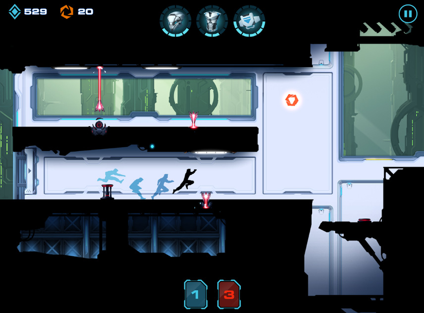 Hình ảnh trong game Parkour Vector 1 2 ở HieuMobile