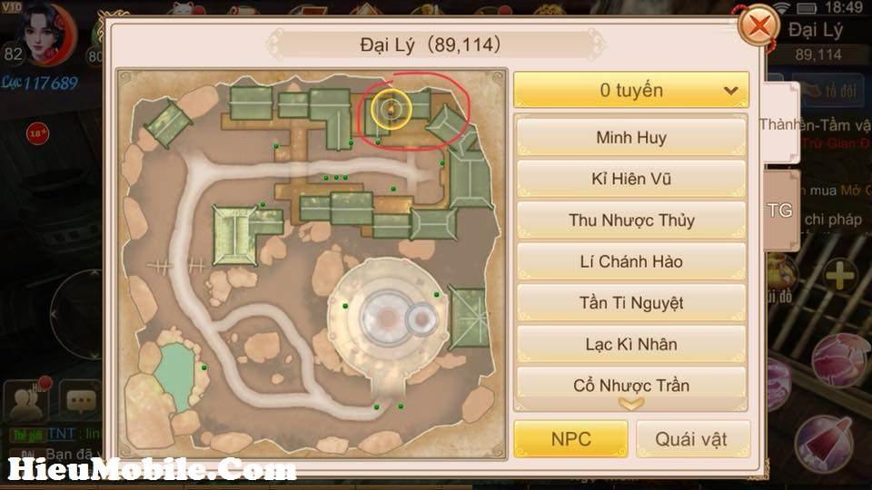 Hình ảnh 2h0DzDw của Nhiệm vụ ẩn Manh Sủng Bà Bà trong game Tru Tiên 3D tại HieuMobile