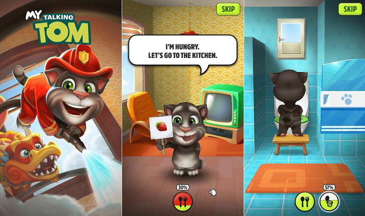 Hình ảnh 3418Voo của Tải game My Talking Tom - Nuôi mèo trên điện thoại tại HieuMobile