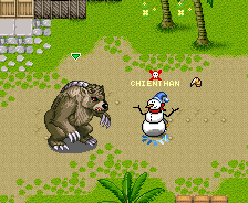 Boss Gấu Xám trong Khí Phách Anh Hùng