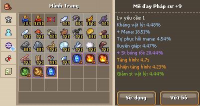 Mề đay - Thoi Dai Hiep Si 141