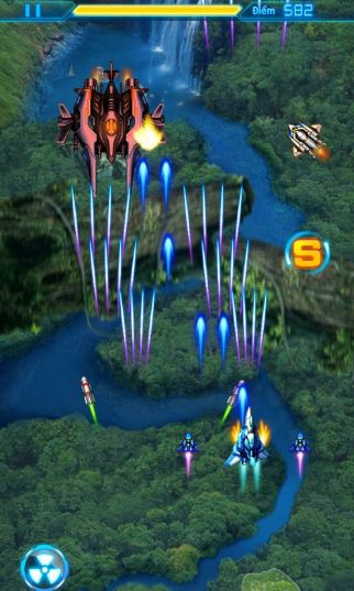 Game bay ban flying shooter