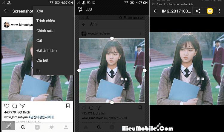 Hình ảnh 3ZAE3LH của 3 cách dễ nhất để tải hình ảnh đã lưu trên Instagram về điện thoại tại HieuMobile