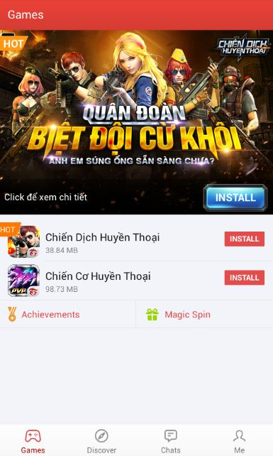 Chọn Magic Spin
