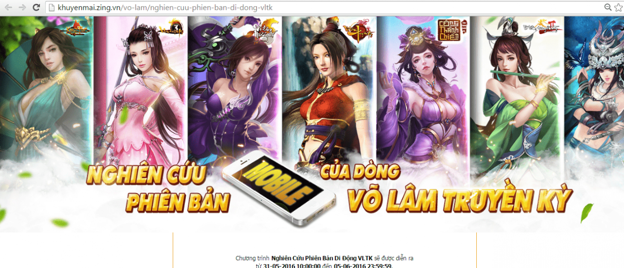 Vo lam truyen ky mobile hinh anh