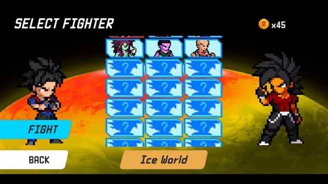 Hình ảnh 4GSp3Gn của Tải game Dragon World: Saiyan Warrior - Chiến binh Xayda tại HieuMobile