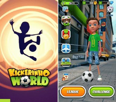 Hình ảnh trong game Kickerinho World - Bậc thầy tâng bóng tại HieuMobile