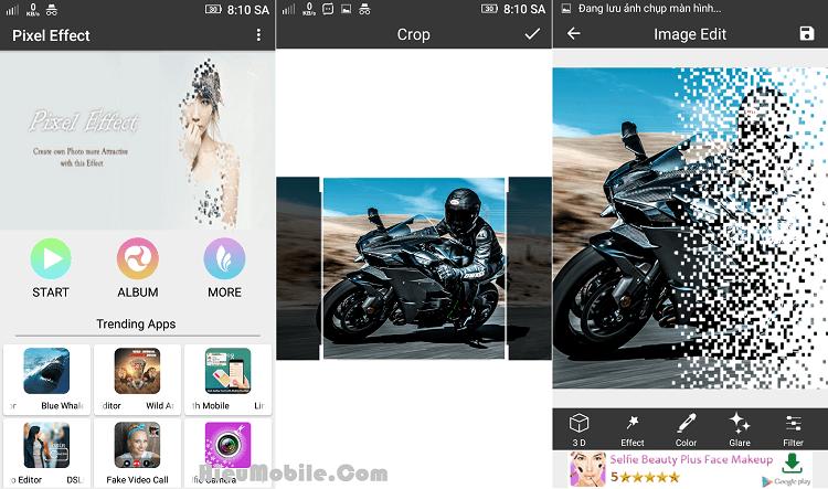 Hình ảnh 4MGZfXq của Tải Pixel Effect: Photo Editor - Hiệu ứng tan biến mây khói cho hình ảnh tại HieuMobile