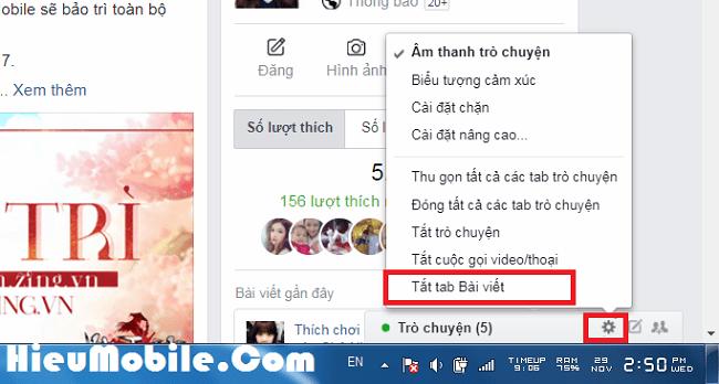 Hình ảnh 5T6IKy0 của Cách tắt bảng thông báo khi có người bình luận trên Facebook tại HieuMobile