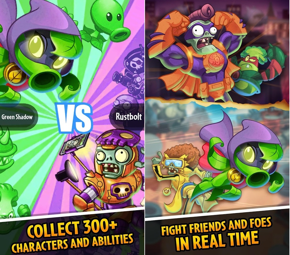 Tải game Plants vs Zombies: Heroes Android và iOs