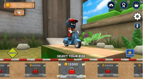 Hình ảnh trong game Mini Racing Adventures - Đua xe địa hình tại HieuMobile