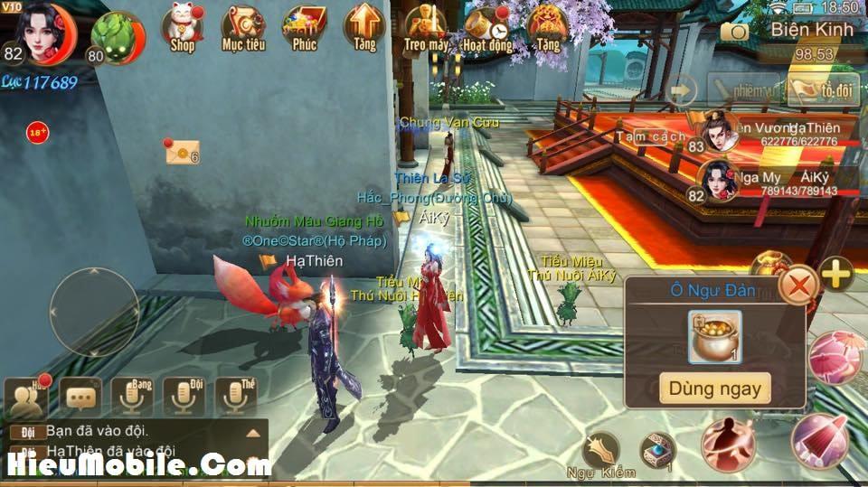 Hình ảnh 5iact67 của Nhiệm vụ ẩn Manh Sủng Bà Bà trong game Tru Tiên 3D tại HieuMobile