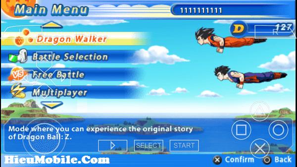 Hình ảnh 60W8FFx của Tải game Dragon Ball Z Tenkaichi Tag Team cho điện thoại Android tại HieuMobile