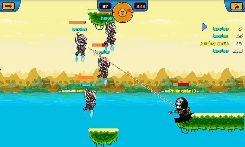 Ultron - 8 trong 8 vũ khí mới của Mobi Army 3