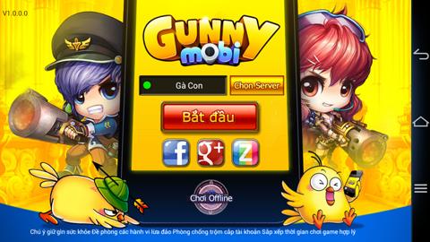 Hệ thống tài khoản của Gunny Mobi