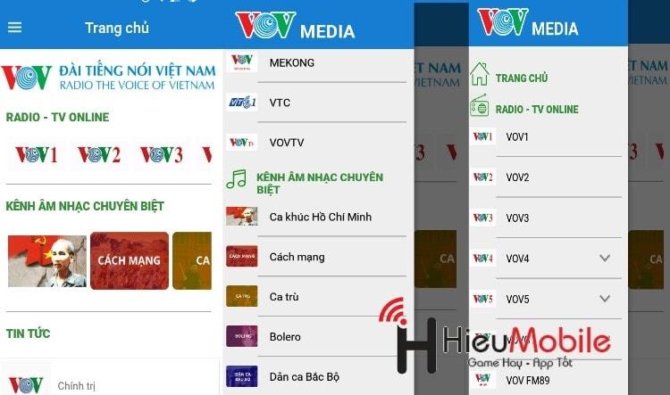 Hình ảnh 6Biie0r của Tải VOV Media - Ứng dụng nghe radio đài tiếng nói Việt Nam tại HieuMobile