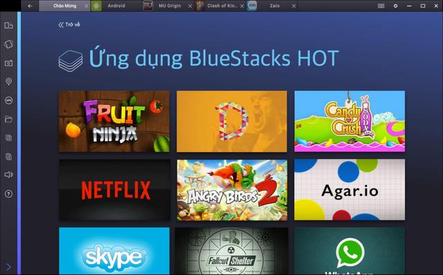 BlueStacks 2 vướng nghi vấn giúp người chơi hack game