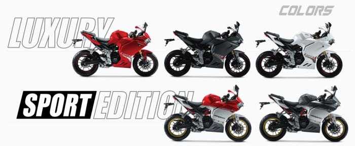 Hình ảnh 6RYP4IZ của Đánh giá và so sánh thông số kỹ thuật Demon 150 GR và GSX R150 tại HieuMobile