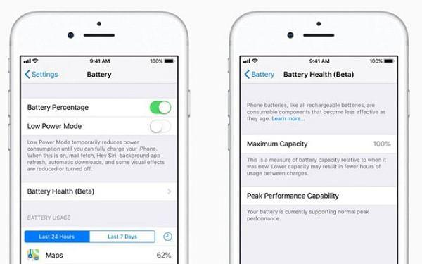 Hình ảnh 6XQvTCL của iOS 11.3 thêm tính năng theo dõi hiệu suất PIN trên iPhone tại HieuMobile