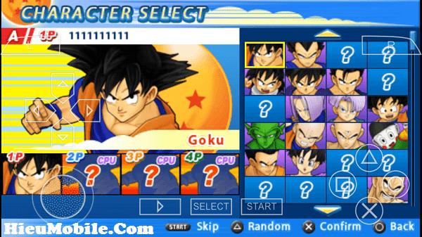 Hình ảnh 74oV3TD của Tải game Dragon Ball Z Tenkaichi Tag Team cho điện thoại Android tại HieuMobile