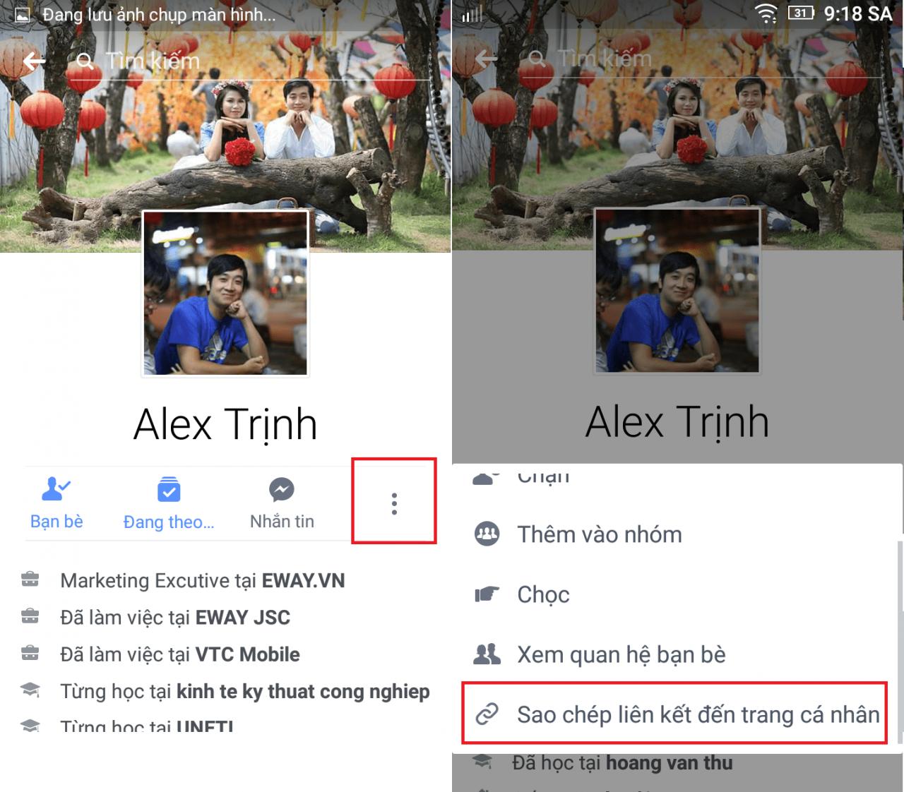 Hình ảnh 776VFij của Cách kiểm tra hoạt động của một người nào đó trên Facebook tại HieuMobile
