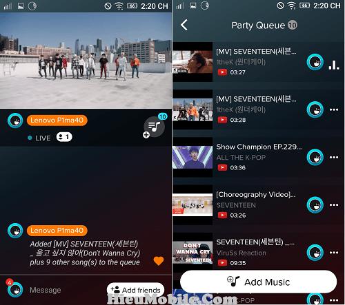 Hình ảnh 7cyNcQJ của Cách thêm nhạc hoặc video vào danh sách phát trong AmpMe tại HieuMobile