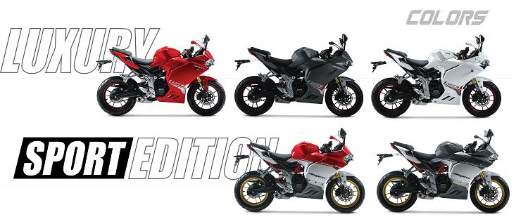 Theo thông tin từ GPX, Demon 150GR sẽ có mặt ở các đại lý vào khoảng đầu năm 2018 với 2 phiên bản sang trọng và thể thao với 5 màu khác nhau.