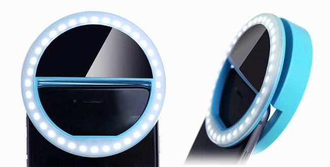 Hình ảnh 7ouUSZ5 của Giới thiệu phụ kiện Đèn LED trợ sáng khi chụp ảnh cho điện thoại tại HieuMobile