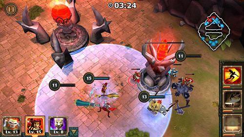 Hình ảnh 7wMESU3 của Tải game Legendary Heroes - Chơi moba offline không cần mạng tại HieuMobile
