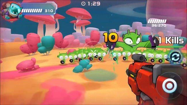 Hình ảnh 88LZNHW của Tải game Galaxy Gunner - Bắn súng giải cứu ngân hà tại HieuMobile