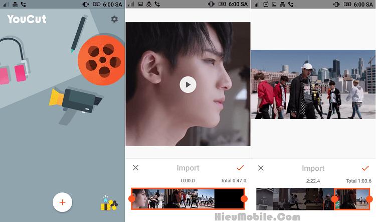 Hình ảnh 8AtEg7f của Tải YouCut - Cắt, chèn nhạc - hiệu ứng video cho Android tại HieuMobile