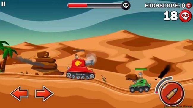 Hình ảnh 90dTNar của Tải game Hills of Steel - Bắn xe tăng trên đồi cát tại HieuMobile