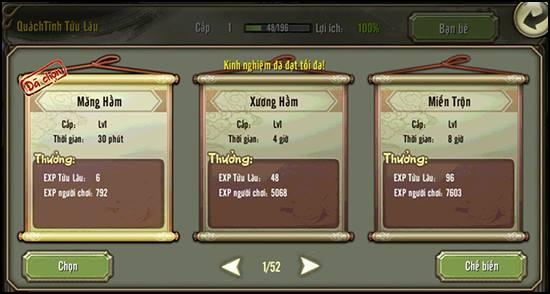 Tửu Lầu trong Thiên Long Bát Bộ 3D