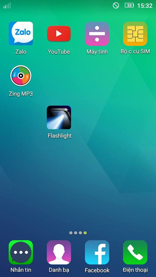 Flash Light - Bật tắt đèn pin trên điện thoại