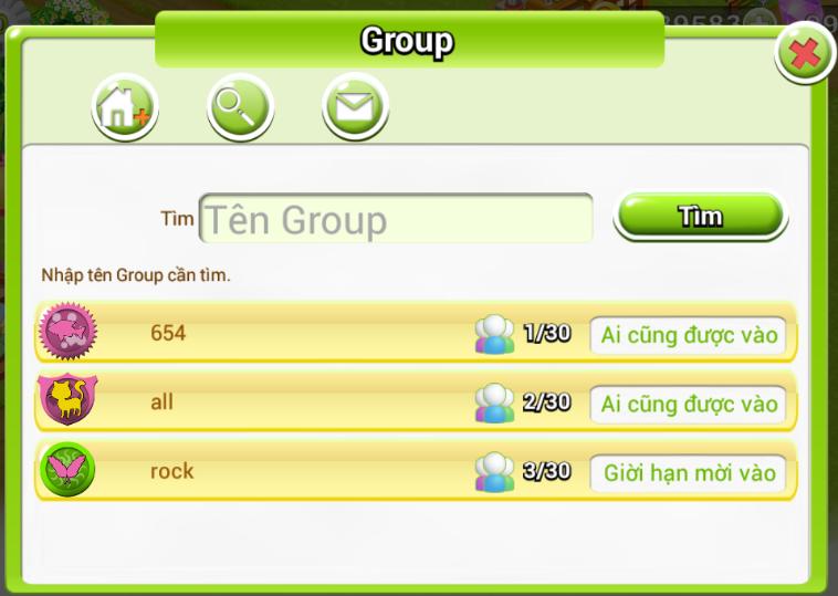 Tạo Group Nông Trại Việt