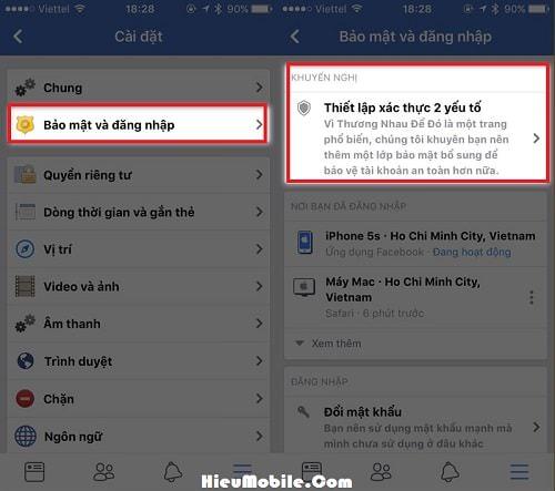 Hình ảnh 9jmXeRM của Cách bật bảo mật hai lớp cho iCloud, Facebook và Google trên iPhone tại HieuMobile