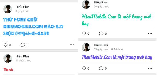 Hình ảnh 9scxM5n của Zalo thêm tính năng tự chọn font chữ lạ mắt khi đăng trạng thái tại HieuMobile