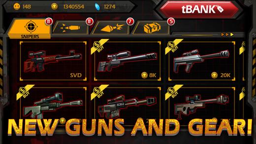 Các loại vũ khí - Call Of Mini: Sniper