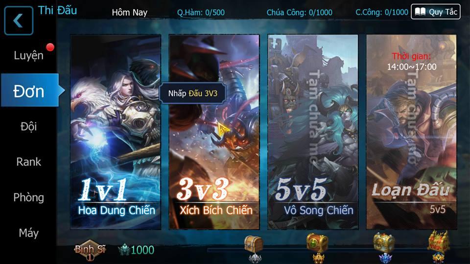 Ảnh game 3Q 360Mobi - Củ Hành Mobile tại HieuMobile