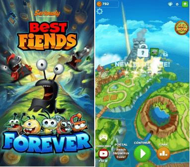 Hình ảnh trong game Best Fiends Forever - Đánh ốc ma đen tại HieuMobile