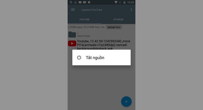 Hình ảnh AFX4jSb của Hướng dẫn cài đặt Youtube Red trên máy Android đã Root tại HieuMobile